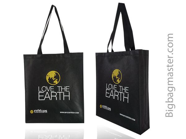 ถุงผ้า concept love the earth SB1_16 บริษัท MYCOS